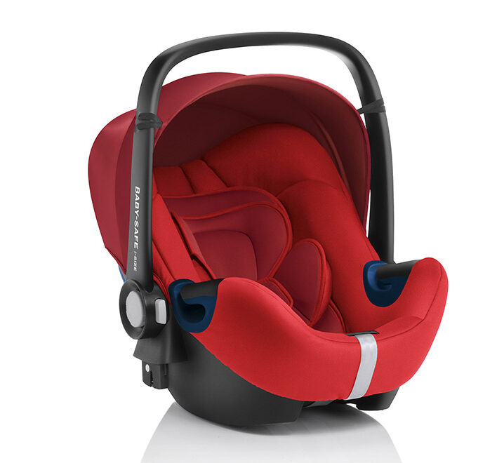 Die SEAT Babyschale Safe Plus SHR II in rot