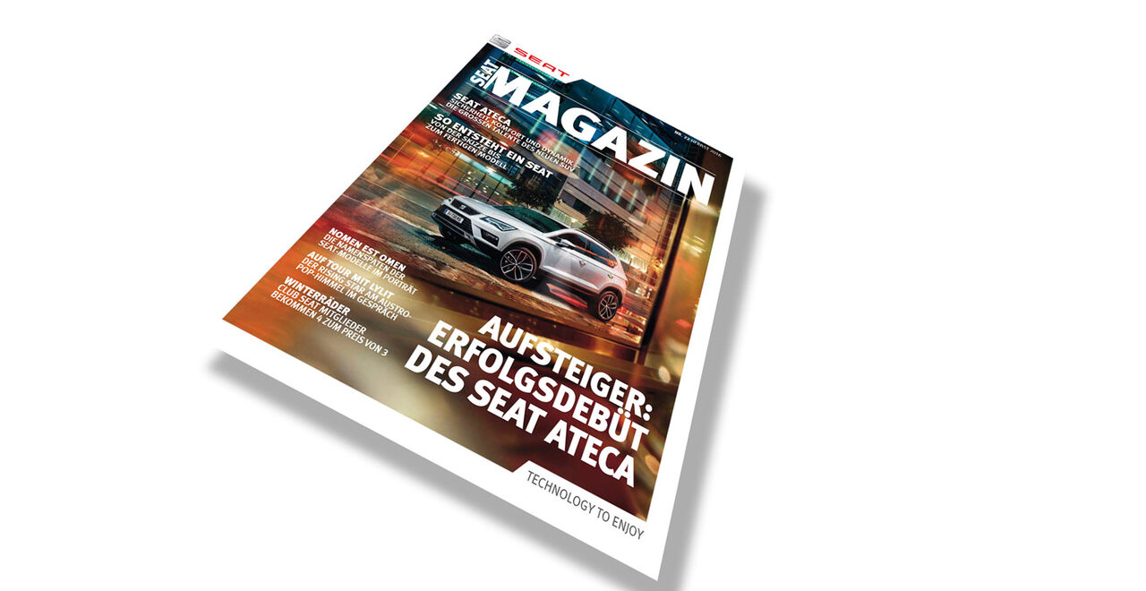SEAT Magazin Nr. 22 - Herbst 2016